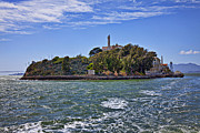 Alcatraz Prison Framed Prints - Alcatraz Island San Francisco Framed Print by Garry Gay