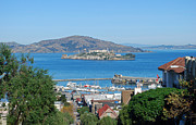 Alcatraz Prints - Alcatraz Island Print by Twenty Two North Photography