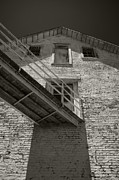 Alcatraz Metal Prints - Alcatraz prison Metal Print by David Cordner