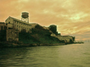 Alcatraz Prints - Alcatraz prison Print by Gary Brandes