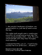 Fbi Prints - ALCATRAZ REALITY - The Painful Landscape of Freedom Print by Daniel Hagerman