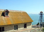 Alcatraz Prints - Alcatraz Rooftop Print by Richard Reeve