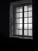 Alcatraz Art - Alcatraz Sally Port Window by Daniel Hagerman