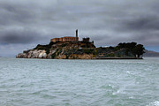 Myeress Framed Prints - Alcatraz Storm Framed Print by Joe Myeress