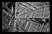 Blake Richards Framed Prints - Alcatraz The Cells Framed Print by Blake Richards