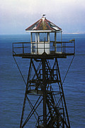 Alcatraz Art - Alcatraz Watch Tower by Paul W Faust -  Impressions of Light