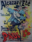 Belle Epoque Originals - Alcazar DEte Original Vintage French Poster by SEM Georges Goursat