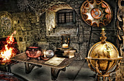 Books Digital Art - Alchemist Chamber by Mo T