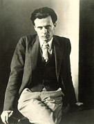 Author Metal Prints - Aldous Huxley Metal Print by Everett