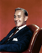 1950s Portraits Photo Metal Prints - Alec Guinness, 1950s Metal Print by Everett