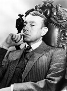 Contemplating Framed Prints - Alec Guinness, C. Late 1940s Framed Print by Everett