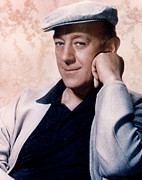 Cap Framed Prints - Alec Guinness, Circa 1950s Framed Print by Everett