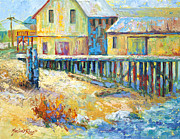Marion Rose Art - Alert Bay Cannery by Marion Rose