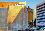 Chicago Landmark Paintings - Alerton Building by Rick Clubb