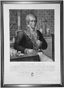Electric Current Prints - Alessandro Volta, Italian Physicist Print by Omikron