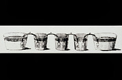 Alessandro Volta Prints - Alessandro Voltas Crown Of Cups Print by