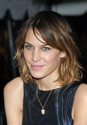2000s Hairstyles Framed Prints - Alexa Chung At Arrivals For Special Framed Print by Everett
