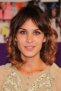 In Attendance Prints - Alexa Chung In Attendance For The 2010 Print by Everett