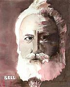 Man Art - Alexander Graham Bell by Arline Wagner