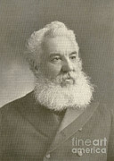 1876 Prints - Alexander Graham Bell Print by Science Source