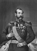 Military Medal Photo Framed Prints - Alexander Ii (1818-1881) Framed Print by Granger