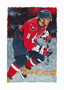 Alexander Ovechkin Paintings - Alexander Ovechkin by Glen Green