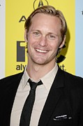 Ifc Posters - Alexander Skarsgard At Arrivals For The Poster by Everett