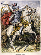 B.c. Framed Prints - Alexander The Great Framed Print by Granger