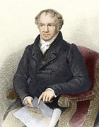 Cartography Photos - Alexander Von Humboldt, German Naturalist by Sheila Terry