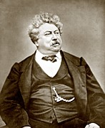 Alexandre Dumas P�re 1802-1870 Popular Print by Everett