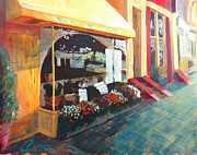 Alexandria Paintings - Alexandria King Street I by Christopher Clark