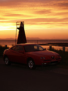 Alfa Romeo Gtv Prints - Alfa GTV Print by Graeme Robinson