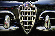 Antique Automobile Framed Prints - Alfa Romeo Framed Print by Dennis Hedberg