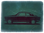 Italian Classic Cars Prints - Alfa Romeo GTV Print by Irina  March
