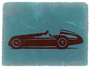 Old Digital Art Metal Prints - Alfa Romeo Tipo 159 Gp Metal Print by Irina  March