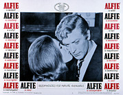 1960s Movies Posters - Alfie, Michael Caine, 1966 Poster by Everett