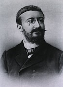 Intelligence Framed Prints - Alfred Binet 1857-1911, French Framed Print by Everett