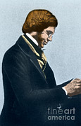 Naturalist Posters - Alfred Russel Wallce, Welsh Naturalist Poster by Science Source