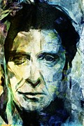 Al Pacino Framed Prints - Alfredo James Pacino Framed Print by Andrea Barbieri