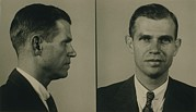 Hiss Framed Prints - Alger Hiss 1904-1996 In 1948 Mug Shot Framed Print by Everett