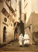 Algeria: Street Scene, C1899 Print by Granger