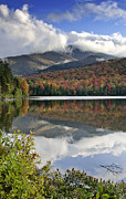 """adirondack Park""  Photo Posters - Algonquin Peak from Heart Lake - Adirondack Mountains Poster by Brendan Reals"