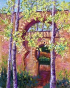 Arches Pastels Posters - Alhambra Gates Poster by Candy Mayer