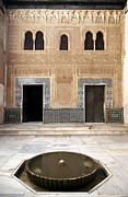 Alhambra Inner Courtyard Print by Jane Rix