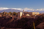 Alhambra De Granada Framed Prints - Alhambra Palace Framed Print by Rod Jones