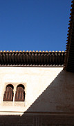 Abstract Sky Framed Prints - Alhambra Shadow Framed Print by Joe Fantauzzi