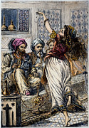 Arabian Nights Prints - Ali Baba And 40 Thieves Print by Granger