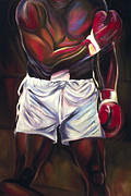 Ali Painting Originals - Ali by Redlime Art
