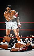Knockout Paintings - Ali by Shea Rutherford