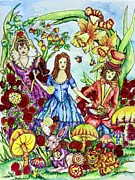 Mad Hatter Originals - Alice by Angela Angelilli- Mowery